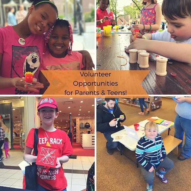 Volunteer with us this summer! #sciencetots #pittsburgh #kidsburgh #remakelearning #pghfamily #steelercountry #pghkids #pghmoms #pghlocal
