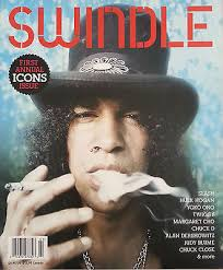 "SLASH - Some of the most memorable hard-rock guitar riffs of the pre-grunge era emanated from Slash's Gibson Les Paul, including those on ""Paradise City"" and ""Sweet Child O' Mine."" He claims the ""Sweet Child O' Mine"" guitar melody came about from ""just fucking around. I didn't even like that song or the guitar part. I thought it was stupid. But Axl really liked it."" Despite their growing success, the band members were too dysfunctional to really take stock of what was happening. Even after Appetite for Destruction went Platinum, Slash never felt like a rock star off-stage. ""We'd be on the road and we'd hear we sold a certain number of records. Then we went back to Hollywood and it's the same shit: living in a cheap apartment and doing drugs all the time, except this time I didn't want to go out because people would recognize me."""