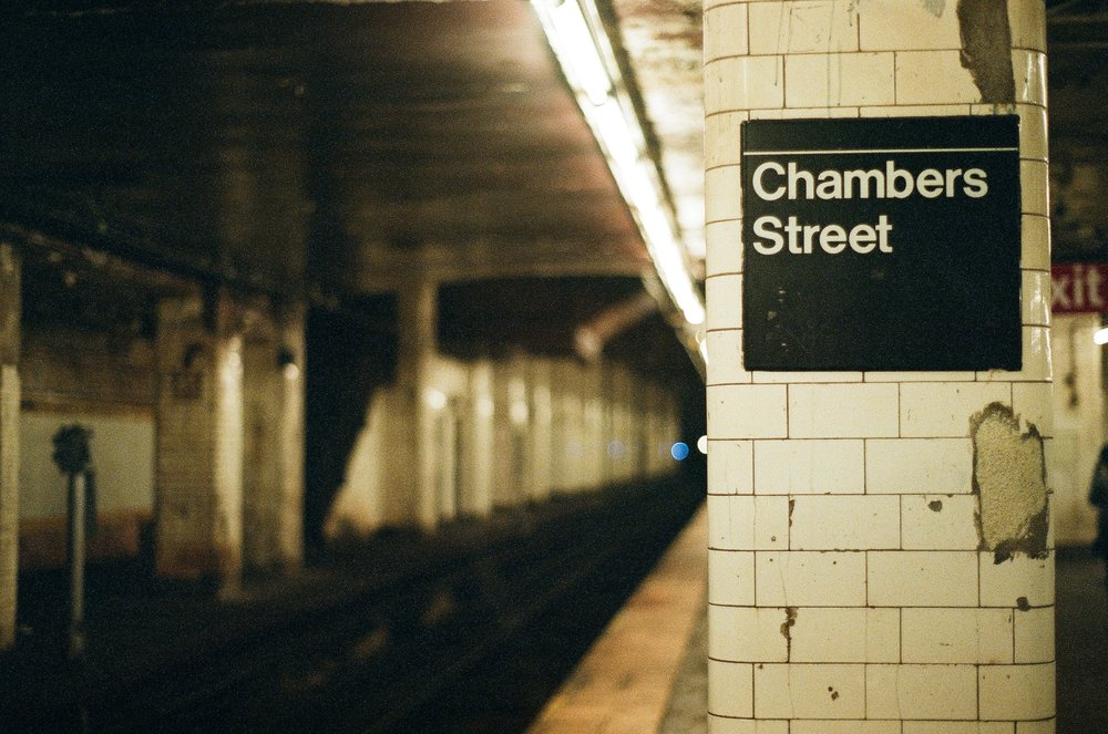 Chambers street station, New York, NY