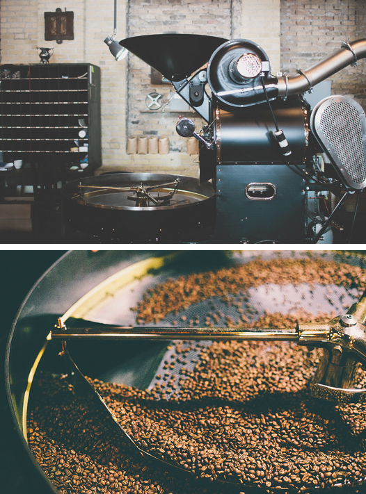 Spyhouse Coffee Probat Roaster