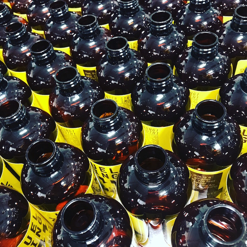 Uel Zing Coffee Endless Bottles.JPG
