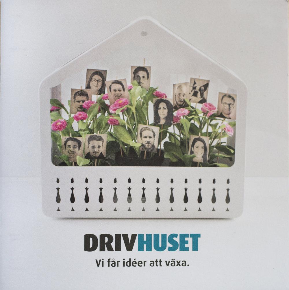 Broschyr till Drivhuset, januari 2017.