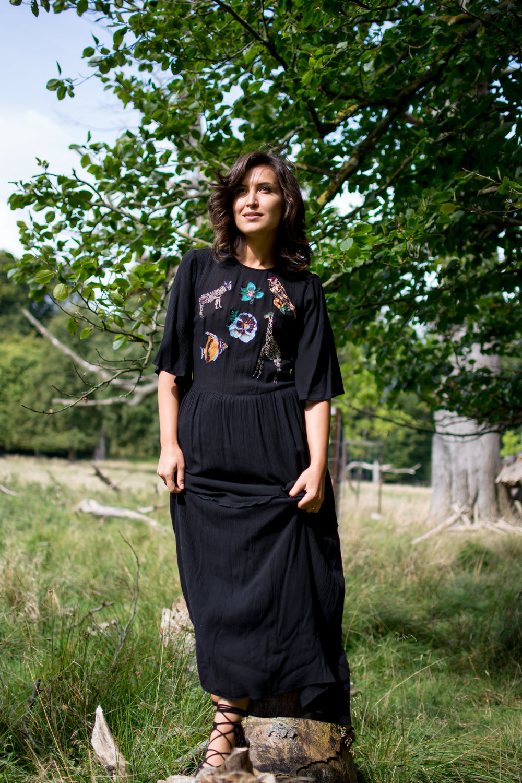 zara embroidered dress, thepopcorn.net