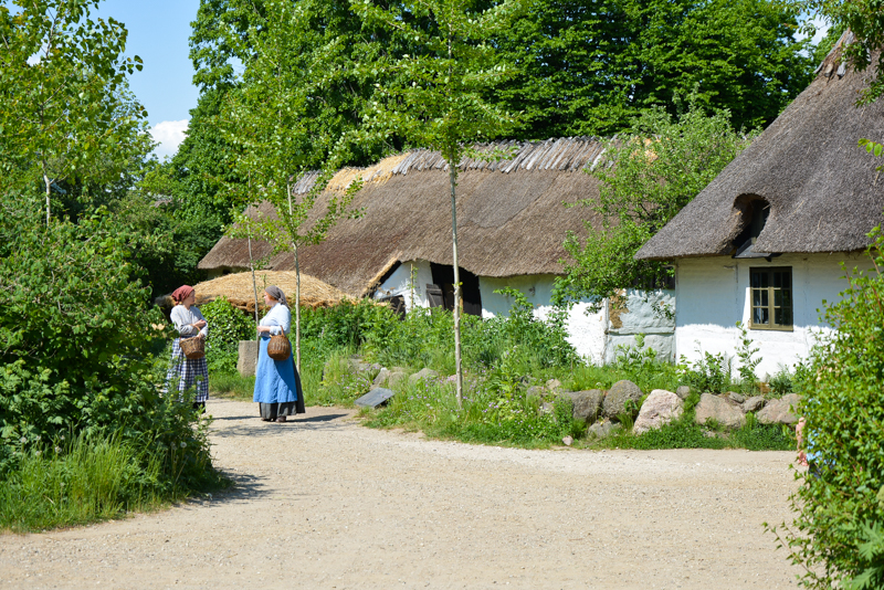 Frilandsmuseet, Open air museum