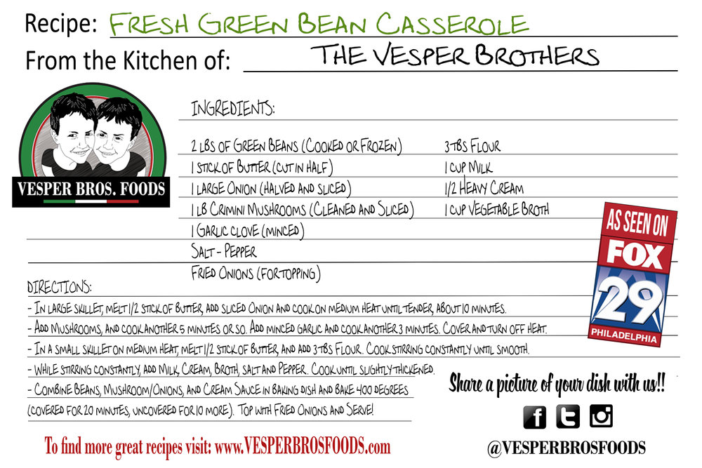 recipe card - Green Bean Casserole.jpg