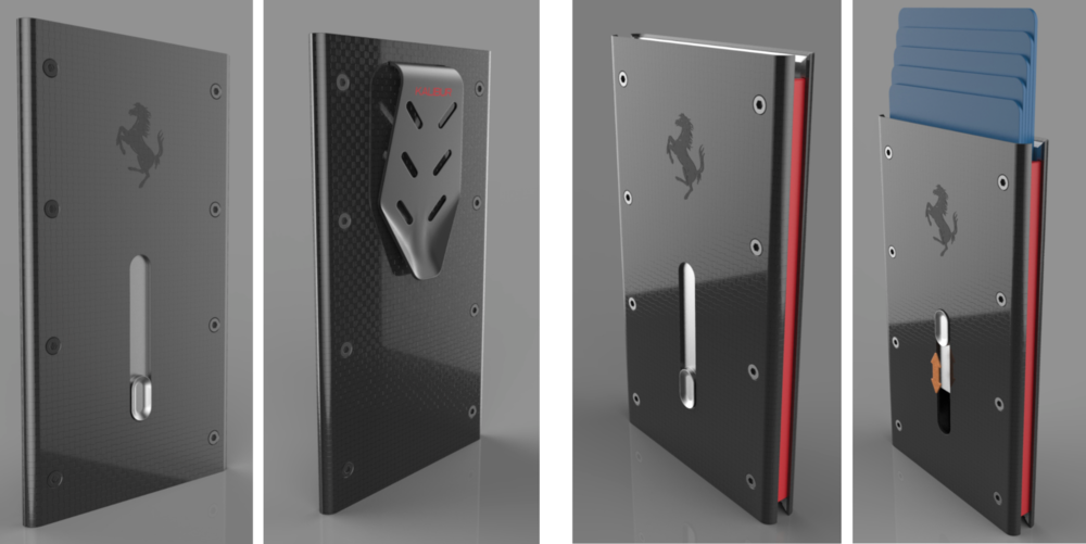 Supercar Wallet Rendering