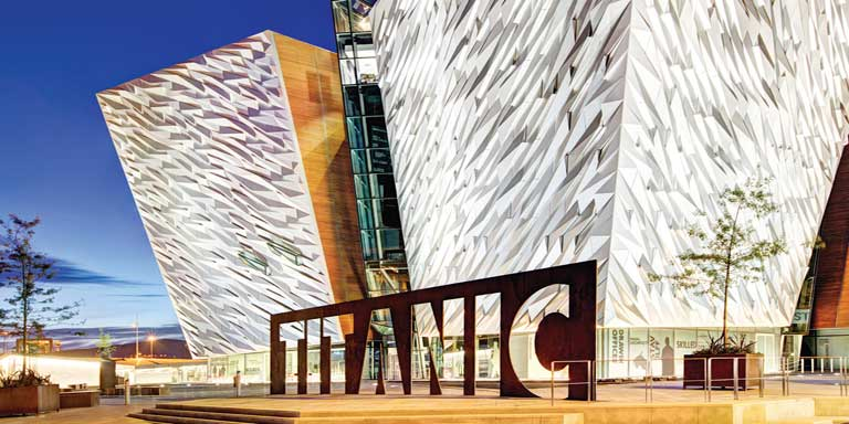 The titanic centre