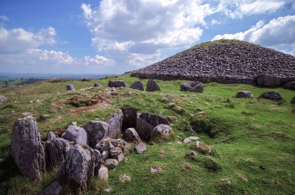 Megalithic cairns at Loughcrew