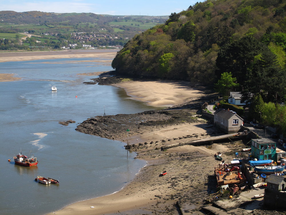View from Conwy Castle, Wales