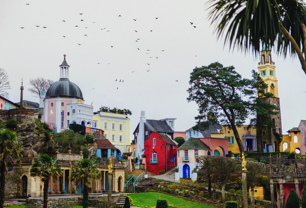 Fantasy Village of Portmerion, Wales