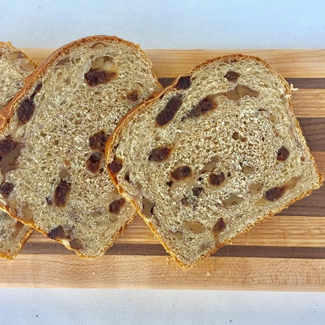 We'll be your date for #ToastyTuesday. . . Head on over to fedbybread.org to order our date + walnut loaf and pick it up on Thursday to start November off the right way. #ourcarbsdogood #bakingherefeedingthere