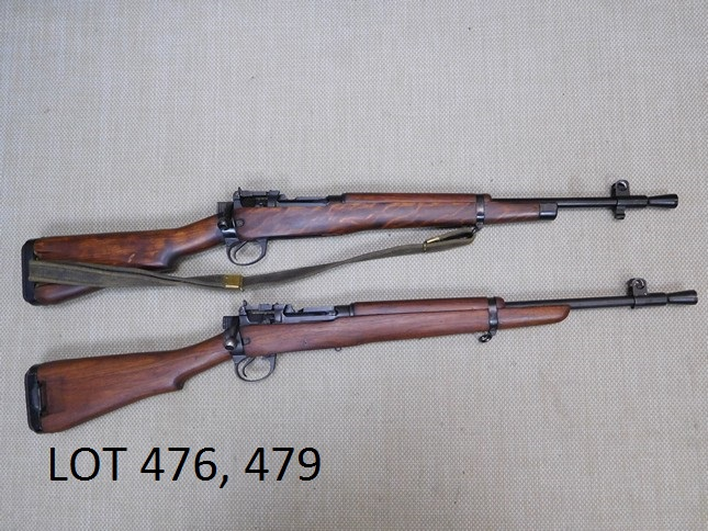 - PLEASE TAKE A LOOK AT LOTS 476, AND LOT 479, LEE ENFIELD , NO 5 MK I JUNGLE CARBINE, AND NO 5 JUNGLE CARBINE.