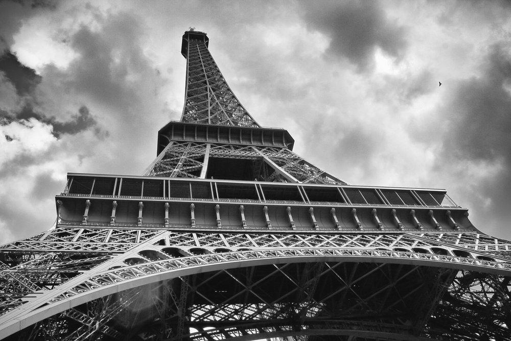 Eiffel Tower, Paris, 2008.