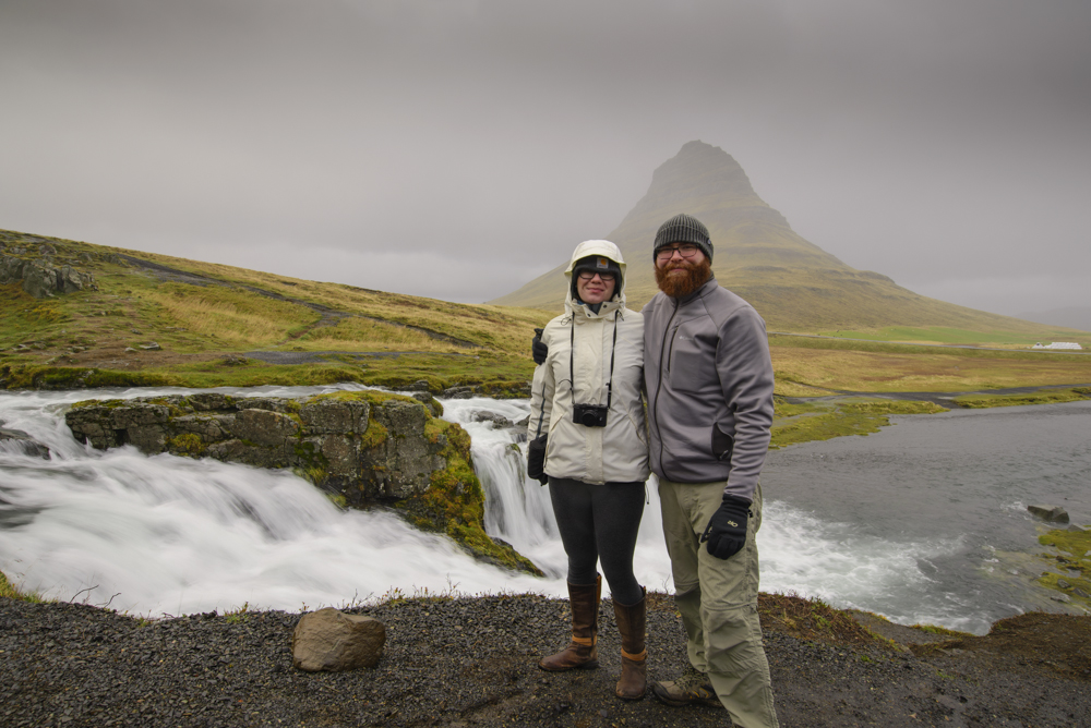 A very cold and wet morning at Kirkjufellsfoss, Iceland, 2016.