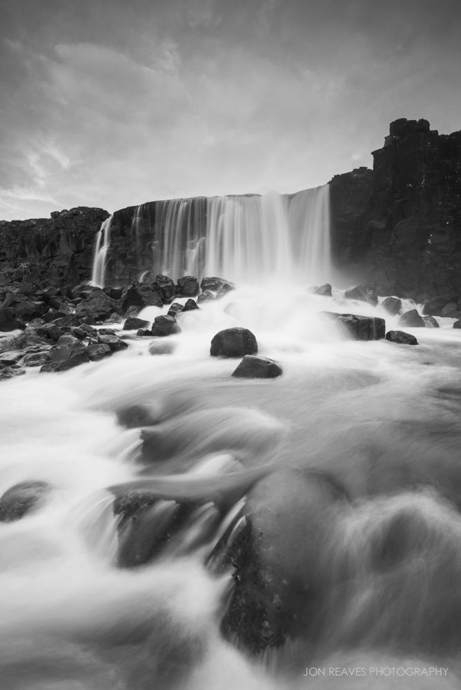 Öxarárfoss,  Þingvellir National Park