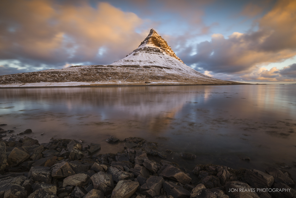 Kirkjufell at Sunrise, Snaefellsnes Peninsula