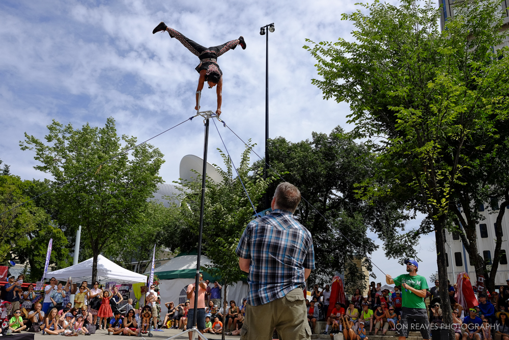 Street Performer, Street Performers Festival, Edmonton