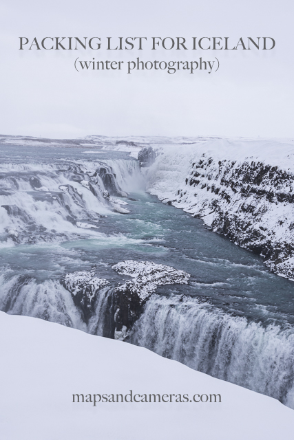 Packing List for ICELAND (Winter Photography)