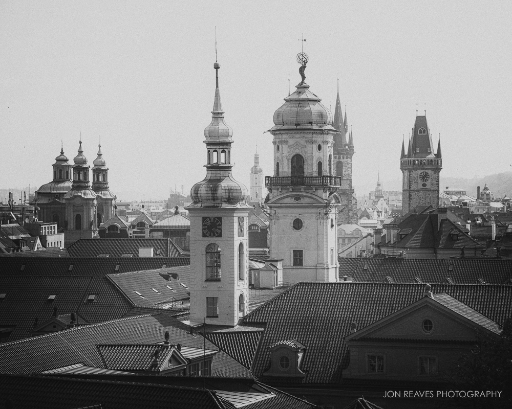 The Spires of Old Town, Prague, Czech Republic