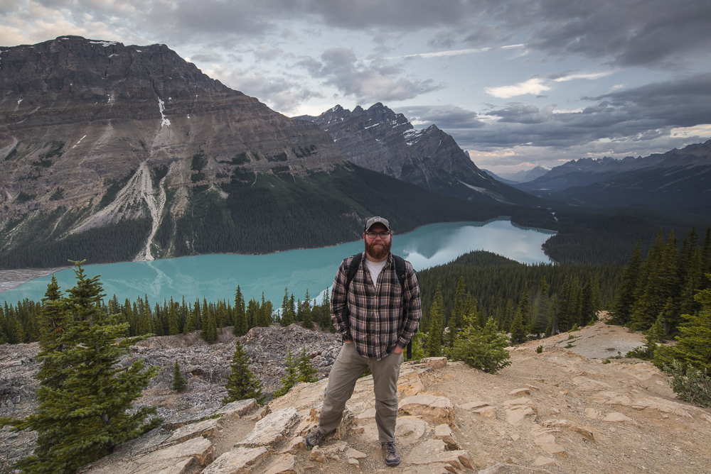 My first visit to Peyto Lake and Banff National Park, Alberta, July 2017