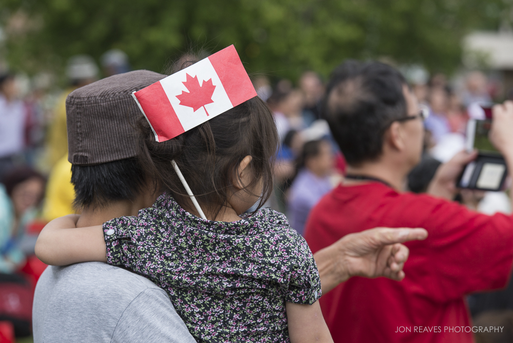 Celebrating Canada Day 2017, Edmonton, AB