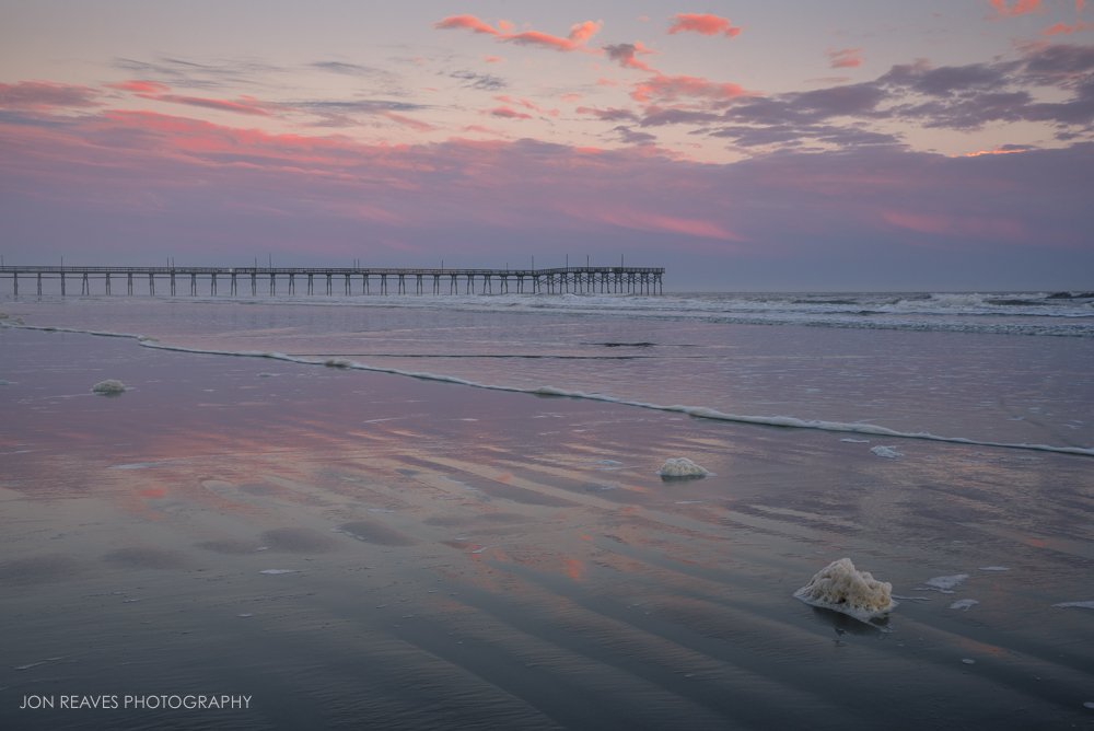 Pink Reflections, Sunset Beach, North Carolina