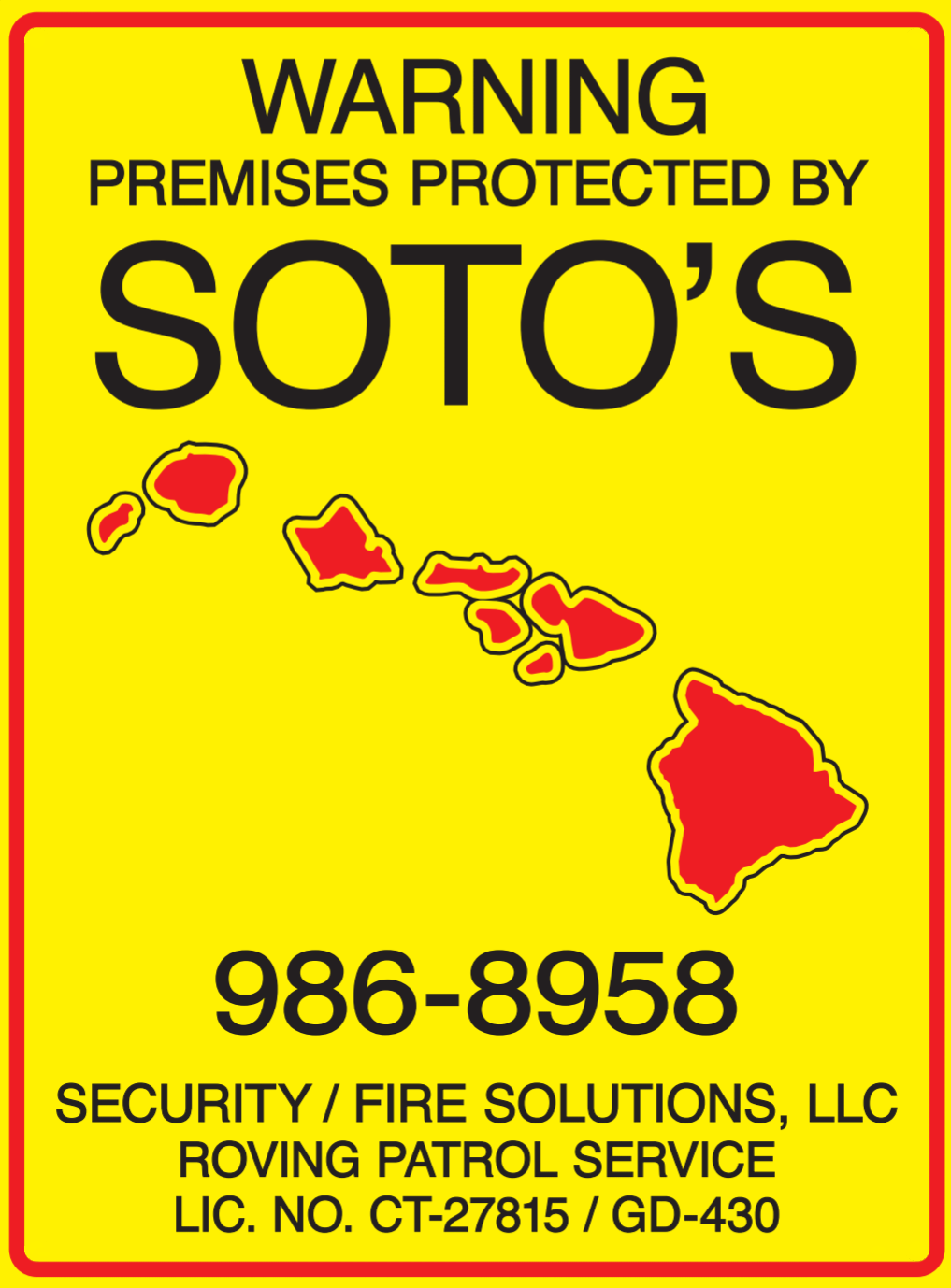 Soto's Security