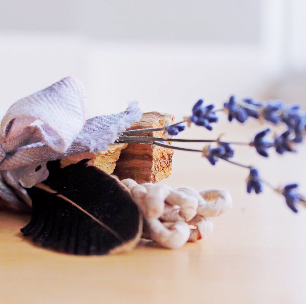 smudge sticks lavender