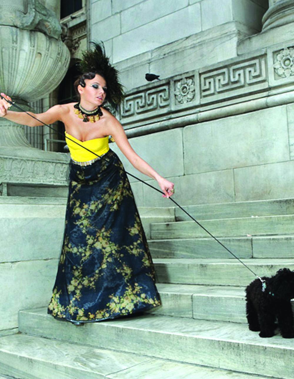 New York City  Model Olga Vidisheva