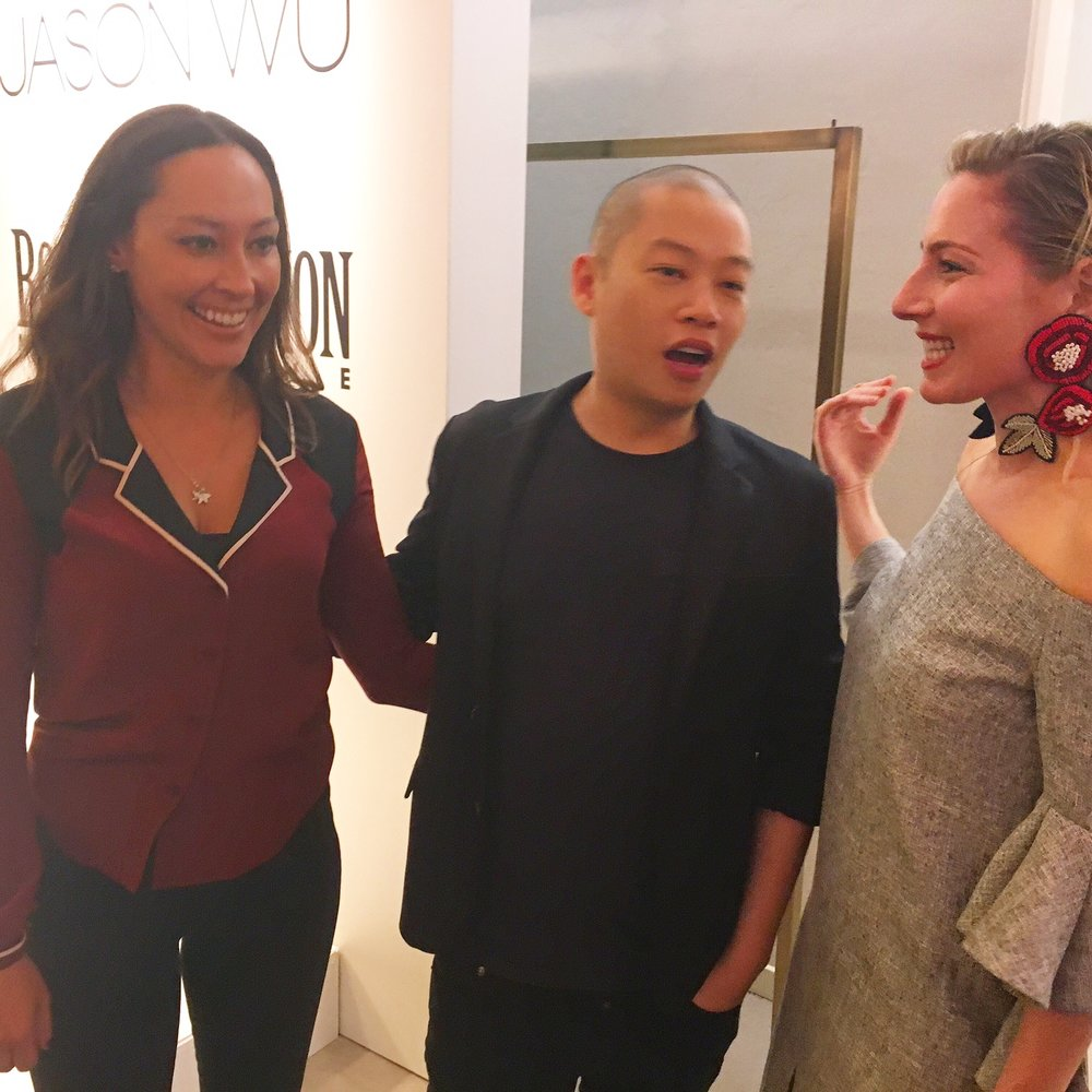 Chatting away the talented Jason Wu