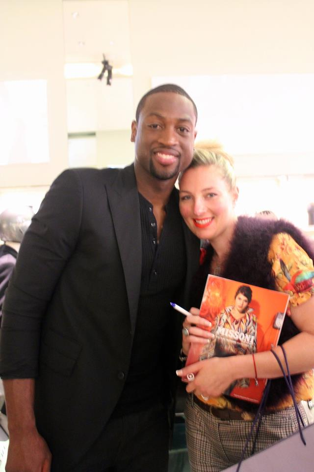 WITH DWAYNE WADE