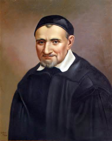 The Society is named after St Vincent de Paul who lived from 1581 to 1660 and whose life was devoted to helping the underprivileged.  He is the patron of Christian charity and, as such, he is a fitting patron for our Society.