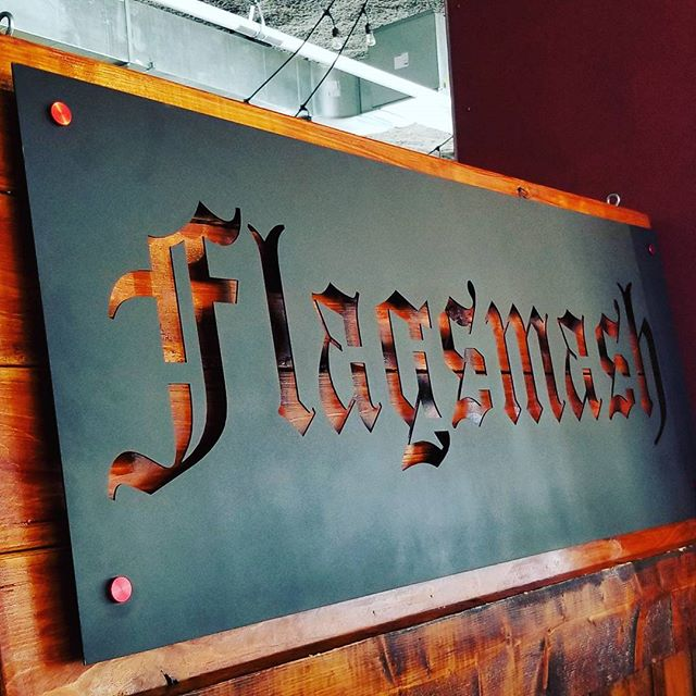 We love our new sign made for us by our good friends @torchandtimber.  Please check them out for locally-made badass art pieces and signs!
