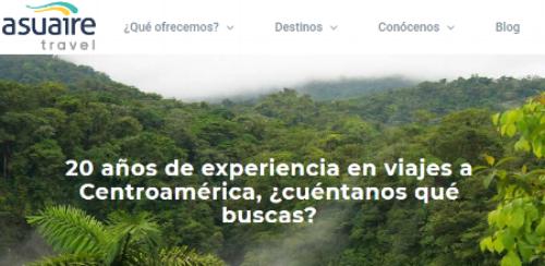 ASUAIRE  (Costa Rica) ha carbono compensado el transporte en autobús de los tours operados por sus lineas de crucero en la temporada 2016-2017 con créditos de carbono del alta calidad provenientes del Proyecto Eólico Los Santos.