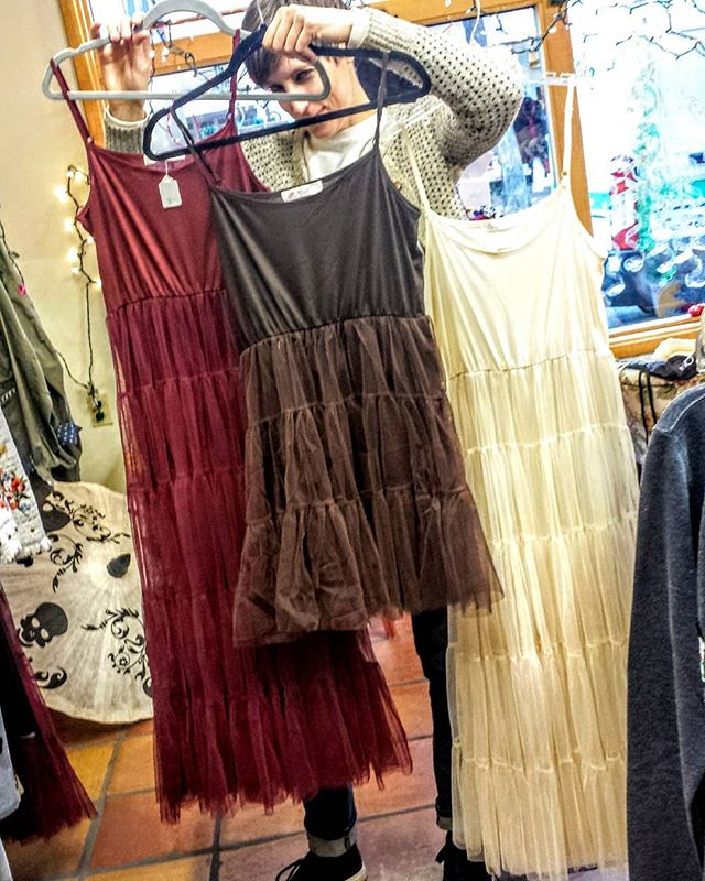 Want to look fashionable with minimum effort? A tutu dress is the answer! Perfect for both casual and fancy occasions.  And remember everything is on Sale!  #trend #santafe #mira_santafe #expressyourself #simplysantafe #howtosantafe #style #fashionista #winter #partywear #party #winterfashion #sale