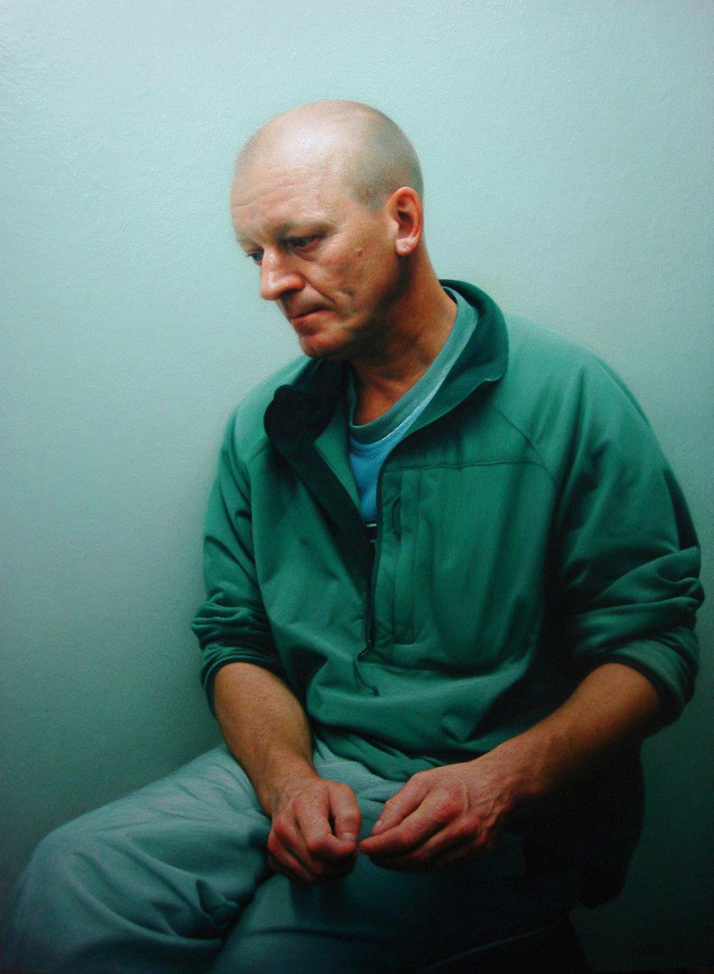 Frank 3.Oil on canvas.