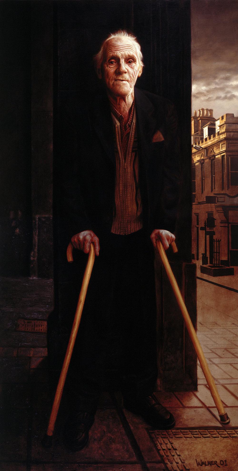 James Clarke. Oil on canvas.
