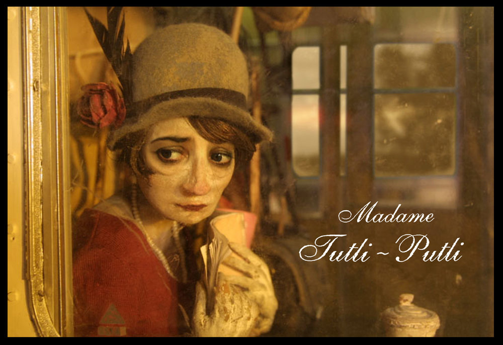 Madame Tutli-Putli. Oscar nominated Stop-motion film.
