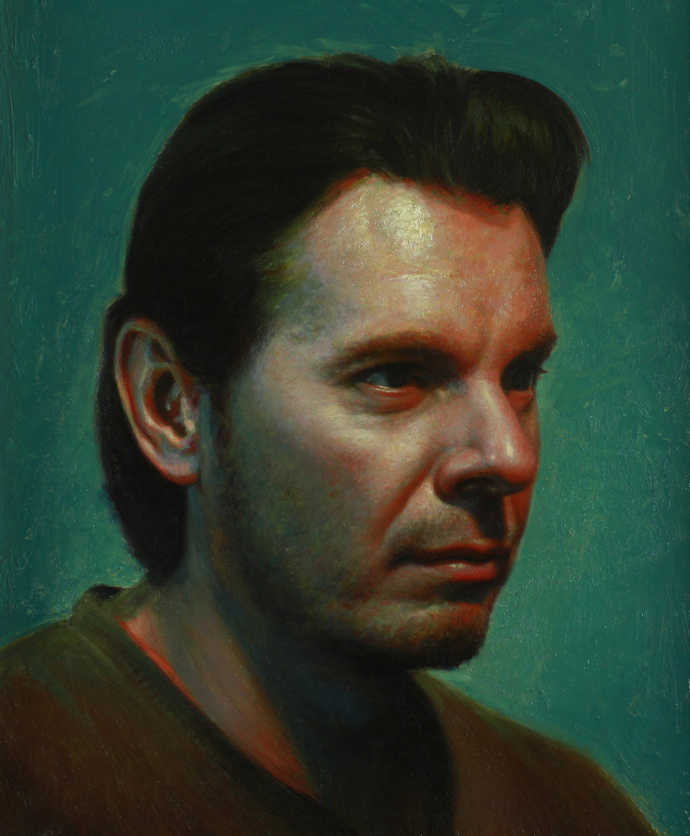 Doug. Oil on panel.