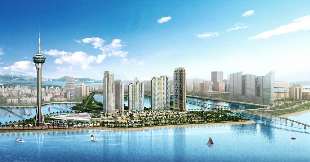 Large-scale Harbor Mile Design