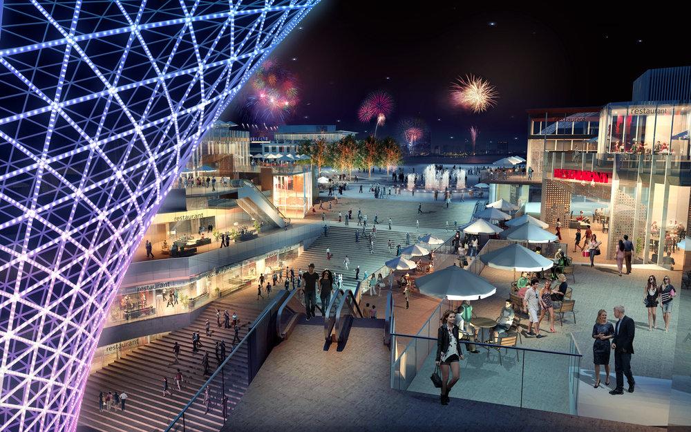 Shanghai Expo Axis View