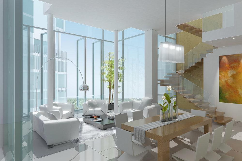 Interior Space Design, The Belmont