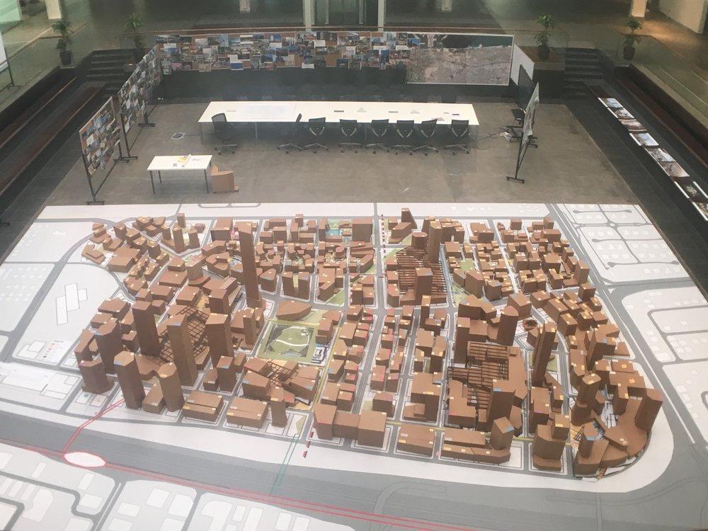 Master Plan Model for Jumeirah Central