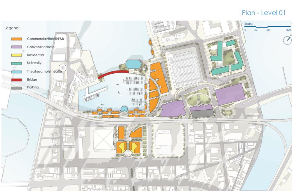 Site Plan for Fukuoka