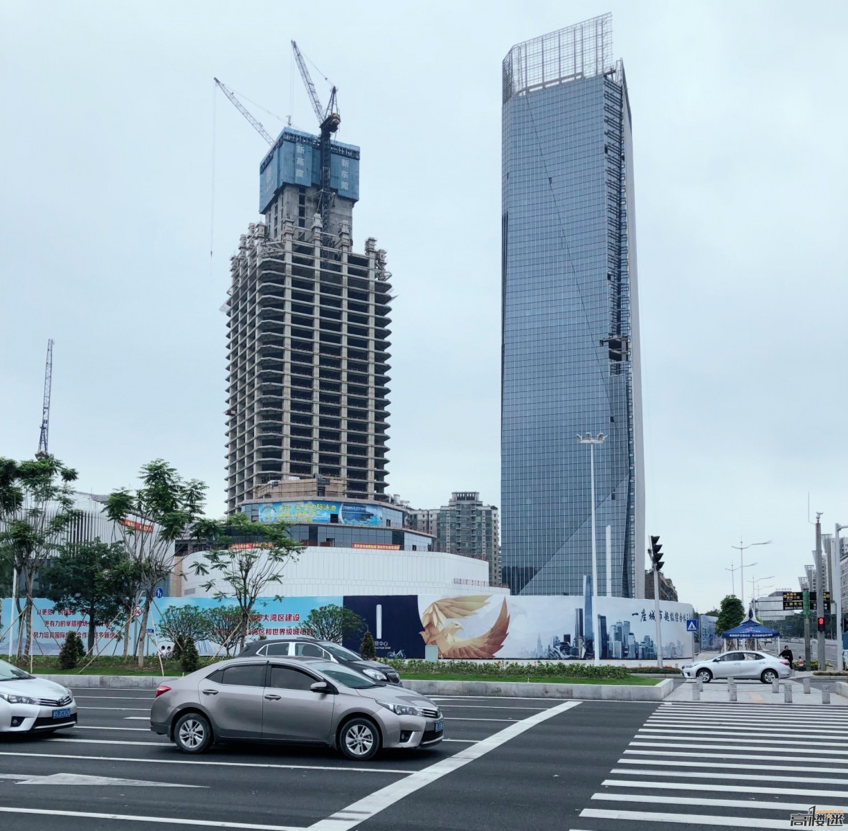 Dongguan International Trade Center Nears Completion
