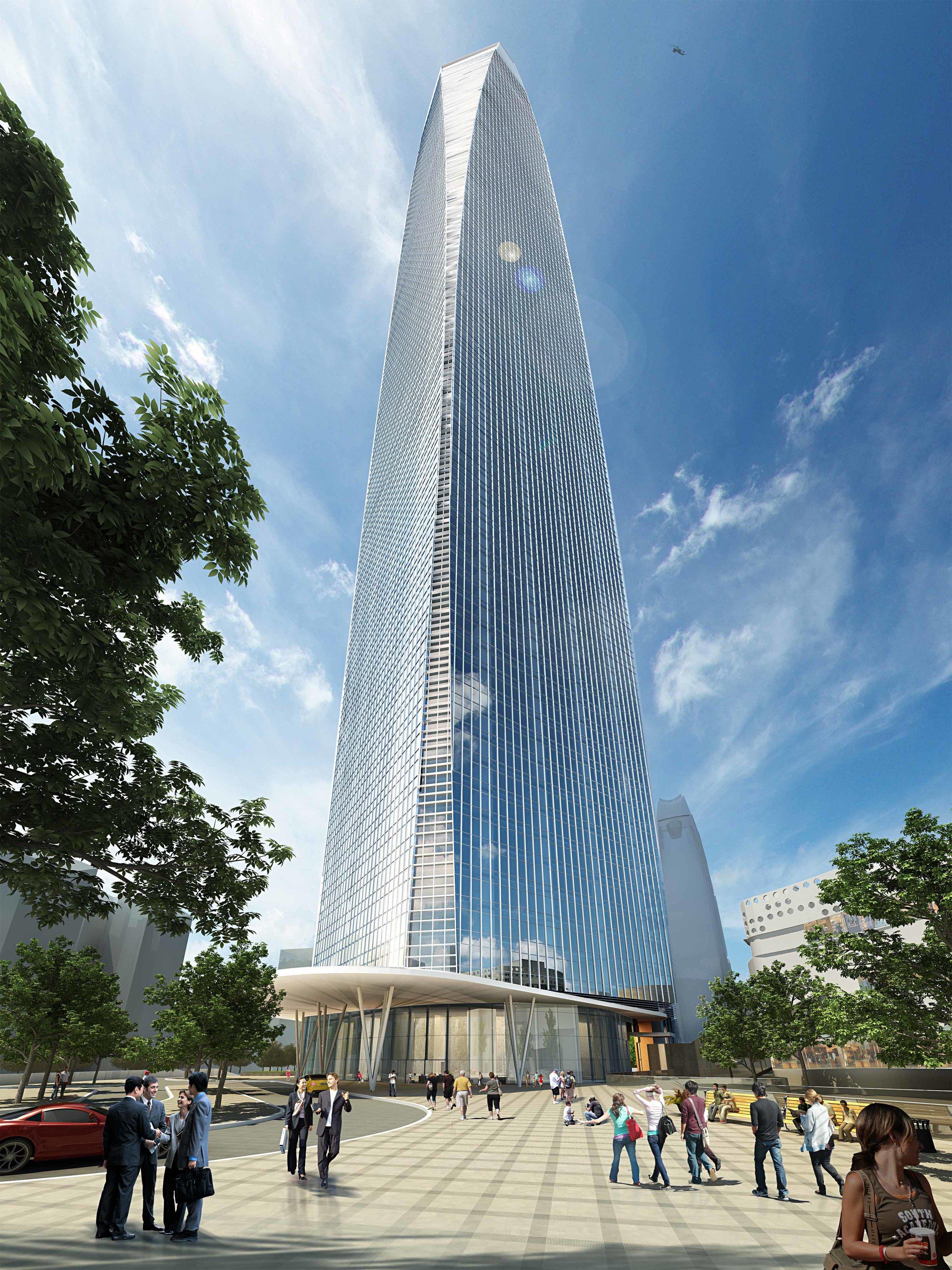 Taking Shape: Dongguan International Trade Center