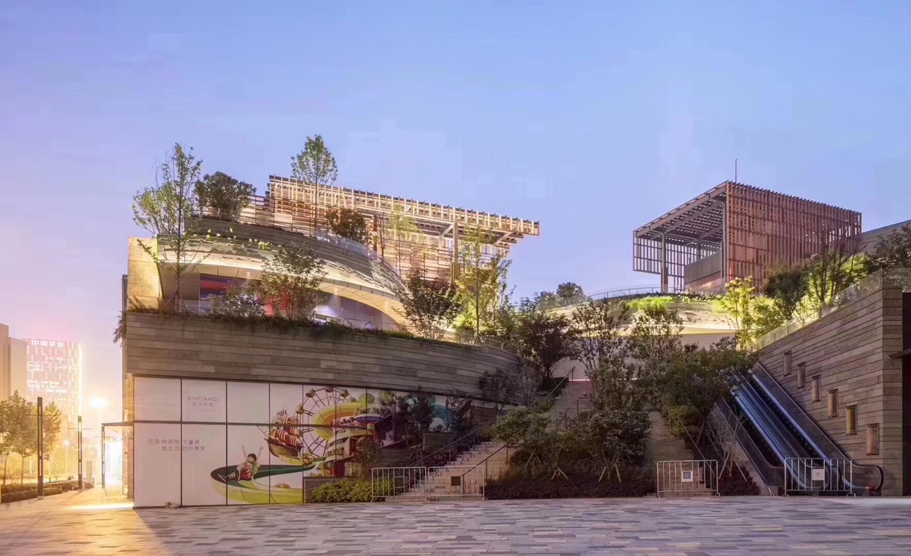 Wuhan North Pavilion Wins Gold at CREDAwards 2019