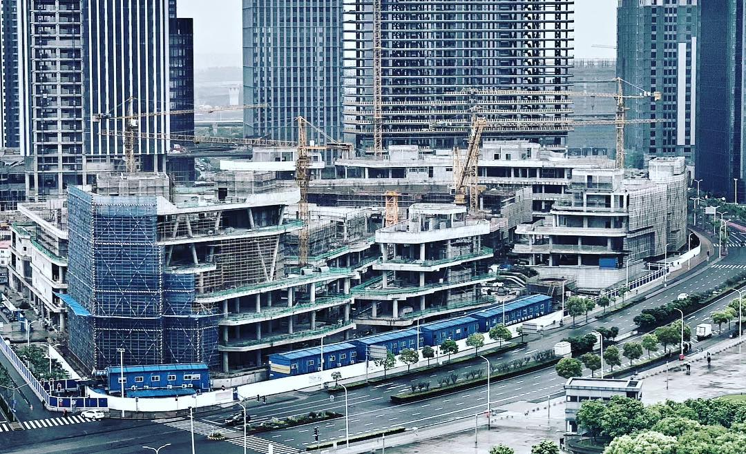 Taikoo Li Under Construction