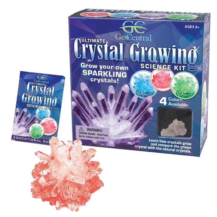 Kids Love Rocks Ultimate Crystal Growing Kit