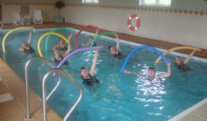 Aqua aerobics.
